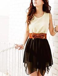 Women's Sleeveless Top Mini Dress