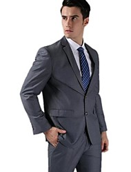 Men High Quality Fashion Wedding Dress Business Slim Leisure Suits (Jacket + Pants)