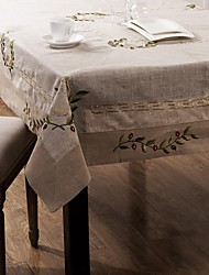 1 Lin Carré Nappes de table