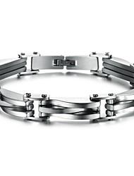 Z&x® мужской моды личности титана стальной браслет ювелирных изделий