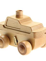 Tank Model Wooden Music Box Toys