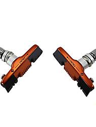 BARADINE Aluminum Alloy Housing Orange Black MTB Brake Shoes for V Brake