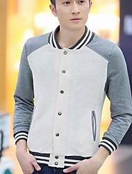 Men's Fashion Stand Collar Slim Fleece Coat