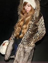Women's Coats & Jackets , Faux Fur Casual Vera