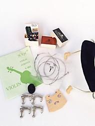 + Cordas + mute 4/4 violino ombro primavera + resina + afinador + jean + código de quatro fine-tuning