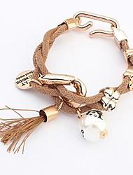 européen mode style simple bracelet de perles (plus de couleurs)