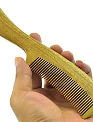suave al tacto 19x4cm brasil sándalo verde peine de madera