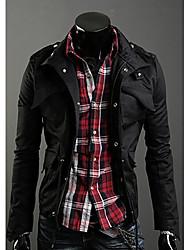Tamas Männer Stehkragen Mantel Mantel Mantel