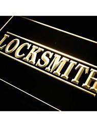 i342 Locksmith Services Neon Light Sign
