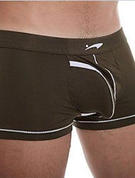 la mode masculine douce modale confortable saine boxer sous-vêtements