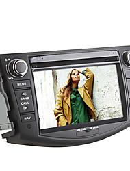 """7 """"lecteur DVD de voiture écran TFT 2 DIN pour 2006- 2012 Toyota RAV4 avec Bluetooth, GPS, iPod, RDS, vtt, 3g, FM / AM"""