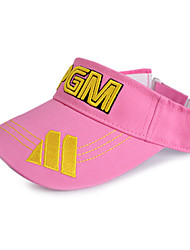 PGM Pink+Yellow Sunproof Golf Hat With No Cover