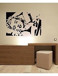 jiubai ™ Marilyn Monroe adesivo de parede adesivo de parede, 72 centímetros * 50 centímetros