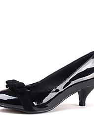 Women's Shoes Closed Toe Kitten Heel Pumps with Bowknot Shoes More Colors available