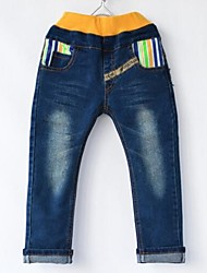 Boy's Stripe Pocket Jeans