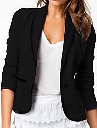 ICED® Women's Slim Cotton Short Blazer
