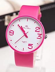personalidad de la moda relojes digitales irregulares de las mujeres