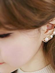 Earring Stud Earrings Jewelry Women Wedding / Party / Daily / Casual Alloy / Imitation Pearl / Rhinestone Gold / Silver