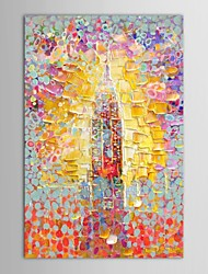 Hand Painted Oil Painting Abstract Painting for Wall with Stretched Frame