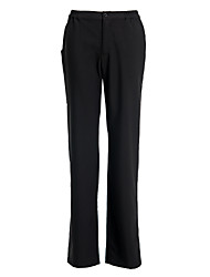 Women's Black Zipper Trouser