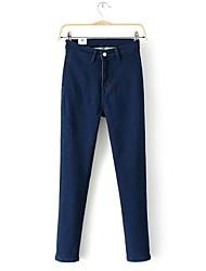 donne pantaloni casual jeans scarni