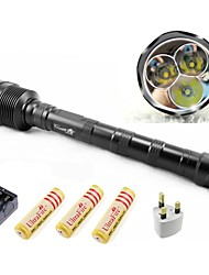 LED Flashlights/Torch / Lanterns & Tent Lights / HID Flashlights/Torch / Diving Flashlights/Torch Mode 3800 Lumens LumensAdjustable Focus