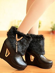 Women's Shoes Fashion Wedge Heel Ankle Boots with Chain More Colors available