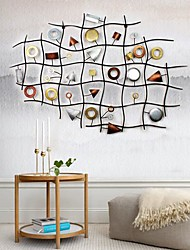 Metal Wall Art Wall Decor,Abstract Art Of Geometry Decor