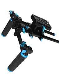 CS-V3 Shoulder Pad Support Video Stabilizer System with Follow Focus and Matte Box for All DSLR Cameras and Video Cam
