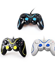 KXD Double Shock Dual-Shock USB Wired PC Game Joy Pad Controller