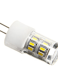 3W G9 / G4 Bombillas LED de Mazorca 27 SMD 3014 200-250 lm Blanco Natural Decorativa AC 100-240 V