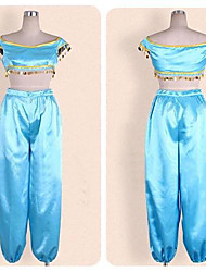 Aladdin Princess Jasmine Cosplay Costume