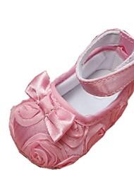 Baby Calçados Vestido/Casual Algodão Rasos Preto/Rosa/Roxo/Vermelho/Branco/Coral