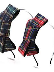 européens bandeaux de bowknot de style de couleur aléatoire