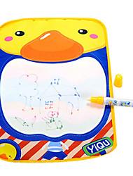 36 * 26.5 * 1cm colorido tablero estera del doodle de dibujo del agua juguetes de la novedad del medio ambiente de los niños