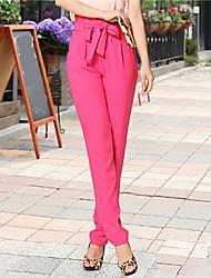 eleganti pantaloni harem retrò delle donne zyqy (rosa)
