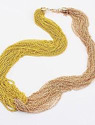 МТС просто тонкий моды свежий ожерелье