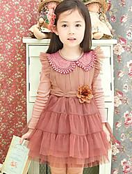 Girl's Fashion Flower Party   Dresses  Lovely Princess    Dresses