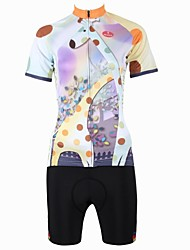 PaladinSport New Women's Cycling Jersey  Women's  Zoo Style 100% Polyester Short Suits-multicolor