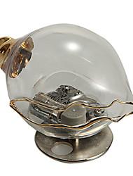 Sea Snail Model Transparent Glass Music Box Toys