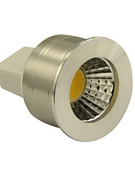 GU5.3(MR16) Spot LED MR11 1 COB 270LM lm Blanc Chaud Gradable DC 12 V