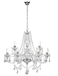 MAX 60W Chandelier ,  Traditional/Classic Chrome Feature for Crystal / Mini Style MetalBedroom / Dining Room / Study Room/Office /