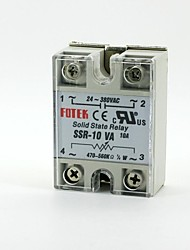 FOTEK Adjustable Resistance Single Phase Solid State Relay SSR-10VA 10A 24-380V AC
