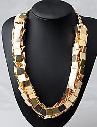 mts westlichen Stil, Mode, Check Halskette