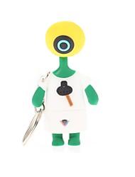 zp extranjero de un ojo unidad flash usb carácter del hombre de 32gb