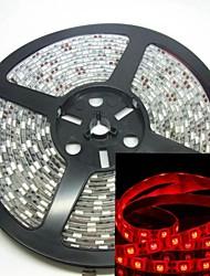 5m 300x5050 SMD LED 75w 635-700nm DC12V IP68 étanche bandeau lumineux rouge