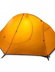 Ultimate Lightweight Outdoor Riding Single Aluminum Pole Tent (More Colors)