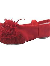 Sapatos de Dança ( Preto/Rosa/Vermelho/Branco/Outro ) - Mulheres/Crianças Balé