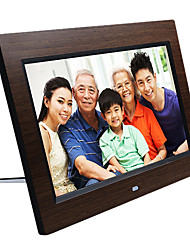 10.1 Inches HD Digital Wooden Photo Frame with 16G Memory Card