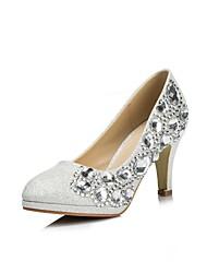 Women's Wedding Shoes Heels/Peep Toe Heels Wedding/Party & Evening Silver